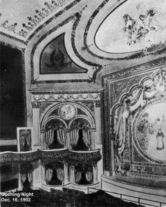Opening Night (Dec. 16, 1902)