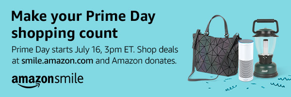 Make your Prime Day shopping count -Shop Amazon Smile