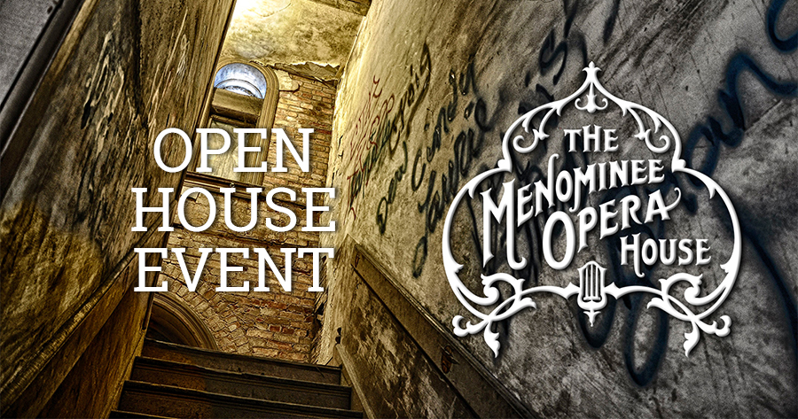 Menominee Opera House Open House Event